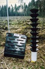 Bekæmpelse af barkbiller. Foto: Søren Fodgaard, Dansk Skovforening.