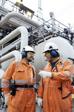 Naturgas. Foto: Lars Sundby, Dong Energy.