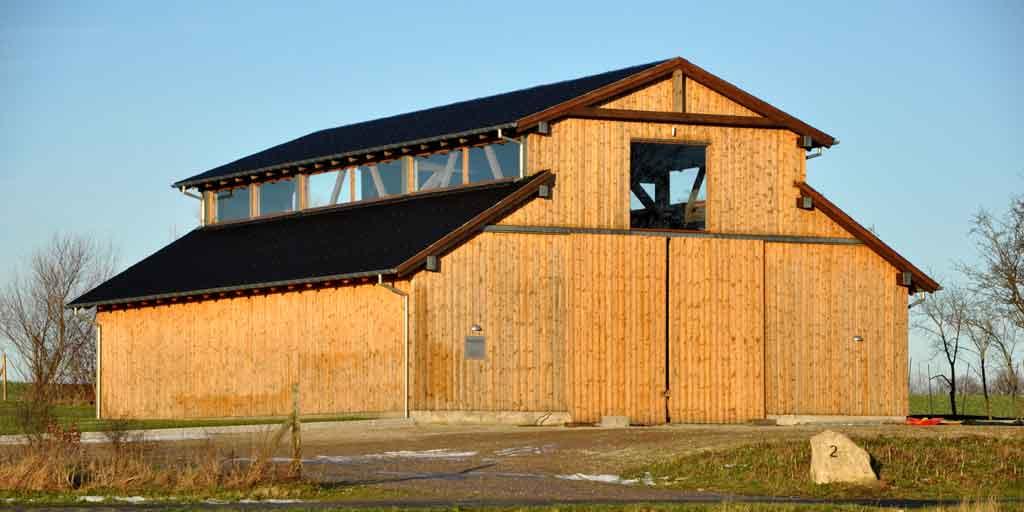 Træbyggeri er en af løsningerne på klimaproblemerne.